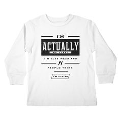 Sarcasm Level Expert - Funny Quotes Gift | diogocalheiros's Artist Shop Shopping Humor, Sarcasm, Funny Quotes, Jokes, Long Sleeve, Gift, Artist, Mens Tops, T Shirt
