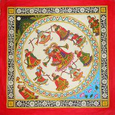 Madhubani Art, Madhubani Painting, Artist Painting, Watercolour Painting, Phad Painting, Rajasthani Painting, Indian Folk Art, Art Of Love, Indian Art Paintings