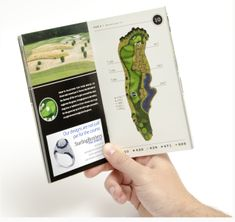 Bench Craft Company makes free custom designed yardage books (golf course guide books) at http://benchcraftcompany.com/