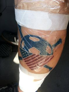 Fresh American Outlaws Tat!