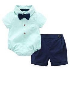2pc lot Kids Boys Baby Suspenders bow tie 6months 2T 3T 4T-5T aqua blue,orange