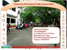 MBBS/MD in Philippines(Admission Helpline - 7200050545) The University of Perpetual Help System (UoPH) is a highly recognised institute offering higher education and located in ...