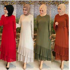Beautiful Dress Designs, Stylish Dress Designs, Designs For Dresses, Stylish Dresses, Frock For Women, African Dresses For Women, Mode Abaya, Mode Hijab, Modest Fashion Hijab