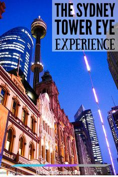 The Sydney Tower Eye Experience - The Trusted Traveller