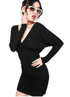 Angel&Lily Sexy Bat sleeves Halter V-neck Dress LS334 plus 0x Angel&Lily Sexy Bat sleeves Halter V-neck Dress LS334 plus 1x-10x (SZ 16-52), it's handmade and it can be custom-made. Specifications: Please check your measurements to make sure the item fits before ordering.  1. Use similar clothing to compare with the size. 2. personalized customization ,please Fill in the information of measurements in the TEXT before you place the order. your Measurements requested