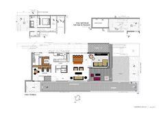 Casa Morás / Carolina Rocco (destaque para layout área da cozinha)