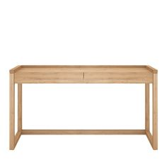 Oak Frame PC Console Table by Ethnicraft - Console Tables - Tables - Furniture