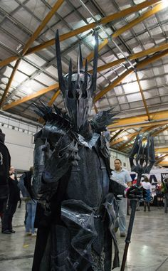 Sauron - Lord of the Rings cosplay from San Diego Comic Con 2014.