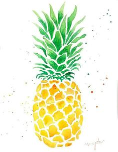 Image result for ananas drawing