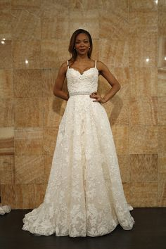 Spring 2014 Gown by Ysa Makino Fashion Friday} Bridal Fashion Week ~ Trends We love for Plus Size Brides | Pretty Pear Bride
