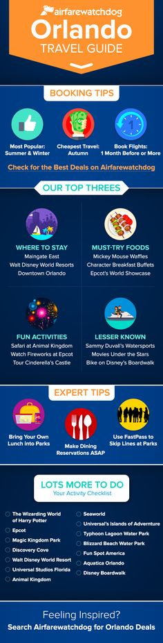Looking for the best deals on hotels in Orlando? Look no further and find them on Airfarewatchdog!
