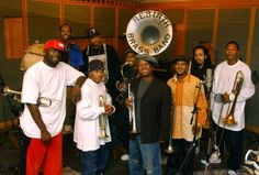 Rebirth brass band in New Orleons