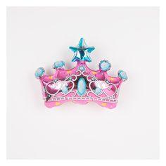 Ballon aluminium mylar couronne de princesse