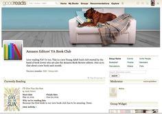 #Amazon lanzó un club de lectura de literatura juvenil. #LIJ