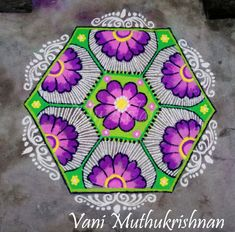 Indian Rangoli Designs, Rangoli Border Designs, Beautiful Rangoli Designs, Kolam Designs, Diya Rangoli, Rangoli Ideas, Rangoli Borders, Special Rangoli, Diwali Craft