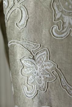 Silk Fabric, Silk Curtains, Designer Fabrics Specialists for interior decoration and fashion fabric. James Hare is home to the very best in furnishing, fashion and designer fabrics and fabrics from around the world. Silk Curtains, Curtains With Blinds, Curtain Fabric, Lace Embroidery, Embroidered Silk, Decor Blinds, Silk Wallpaper, Fabulous Fabrics, Fabric Manipulation