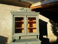 shabby chic szekrény, ónémet bútorok