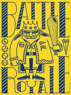 Battle of the Bats – Battle Royale by Tad Carpenter