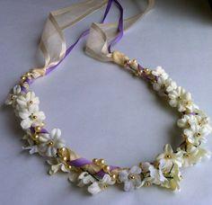 32 Flower&Faux Pearl Bridal Bridesmaid Flower by JLOSpecialties