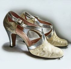 Pair of shoes, 1930s