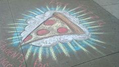 Chalk Photos, Chalk Design, Sidewalk Chalk Art, Chalk It Up, Chalk Markers, Chalkboard Art, Art Drawings, Easy Chalk Drawings, Art Inspo