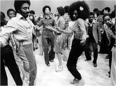 I always wanted to be a Soul Train dancer