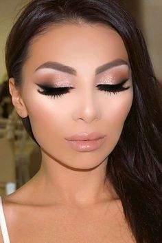 Wedding Make Up Ideas For Stylish Brides ❤️ See more: #weddings