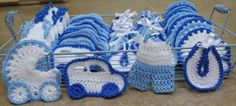 Crochet Baby Carriage/ Buggy/Stroller/Pram Applique Novelty / Perfect for Bomboniere, Baby Shower, Decoration, Crochet Mittens Pattern, Ravelry Crochet, Crochet Motif, Easy Crochet, Crochet Patterns, Baby Blanket Crochet, Crochet Baby, Baby Shower Souvenirs, Crochet For Beginners
