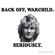 WARCHILD  Patrick swayze  Point break