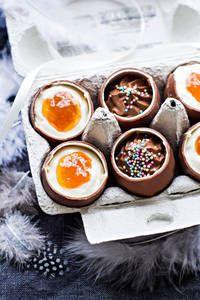 Töhnämunat | K-Ruoka #pääsiäinen #suklaamuna
