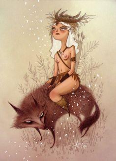 True Love | Ana Varela | Character design: Archer