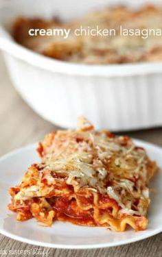 Ground Turkey Sausage Lasagna Soup – Six Sisters' Stuff Cream Cheese Lasagna, Spinach Lasagna Rolls, Cream Cheese Chicken, Ritz Chicken, Glazed Chicken, Spicy Chicken Rigatoni, Chicken Lasagna, Creamy Chicken, Meatball Lasagna