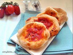 Pizzette senza glutine