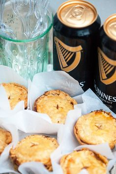 Buttery, flakey hand pies filled with the best beef and Guinness beer filling! Perfect for St. Patrick's Day!   spachethespatula.com #recipe