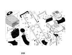 craftsman lawn mower parts in Parts Lawn and garden Pinterest