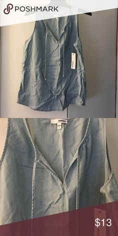 Jean tank top Jean tank top new with tags Sonoma Tops Tank Tops