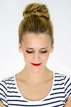 5 Work Hairstyles You Can Do in 3 Simple Steps | Bustle