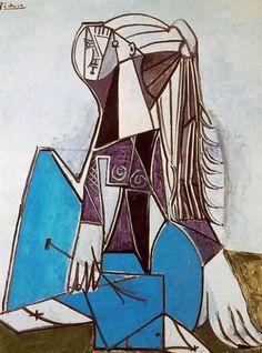 Sylvette (1935) was de muze van Pablo Picasso die hij in 1954 ontmoette toen hij al 73 jaar was. Sylvette David fungeerde als model voor vele tekeningen, schilderingen en kleine beeldhouwwerken. Toen Picasso Sylvette ontmoette, was zijn persoonlijke leven in onrust. De vorige zomer had zijn langdurige partner Gilot, met wie hij twee kinderen had, hem verlaten - de eerste vrouw die hem verliet. Kwetsbaar en angstig dat hij dicht bij de dood was, vond Picasso de troost in Sylvette's…