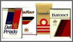 Cajas de cigarros  #80s # 90s
