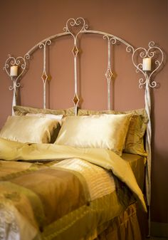 Victorian Heart Bed by Stone County Ironworks.