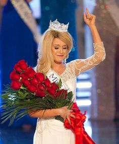 Miss America 2011 Teresa Scanlan giving God the glory for her win
