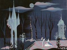 "Mary Blair concept art from Disney's ""Cinderella"""