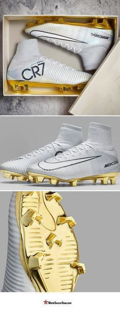 WIN A PAIR! Only 777 individually marked pairs worldwide! Now is your shot to win the Nike CR7 Mercurial Superfly Vitorias. World Soccer Shop was one of the 'select retailers' to get our hands on some of these rare cleats and are giving one lucky fan a chance to celebrate along with Ronaldo by winning a pair of the cleats and being able to pull them on at your local soccer field. Enter now!