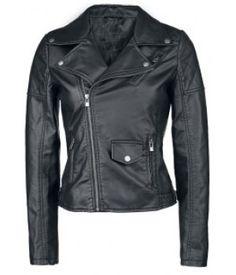 Women's Leather Fashion MC Jacket