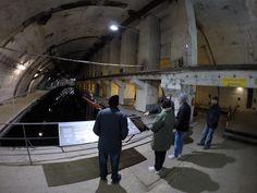 we are at Balaclava submarine base. www.2seecrimea.com London-Crimea trip April 2015