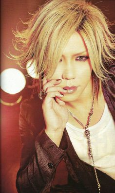 🌸 Aoi / the GazettE / SHOXX VOL. 228 FEB 2012. 🌸