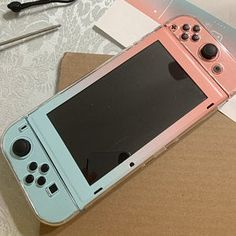 Pastel Starry Sky Skin Wrap for Nintendo Switch Choses Cool, Gaming Desk Setup, Nintendo Switch Case, Nintendo Switch Accessories, Game Room Design, Cute Games, Gamer Room, Apple Products, Nintendo Consoles