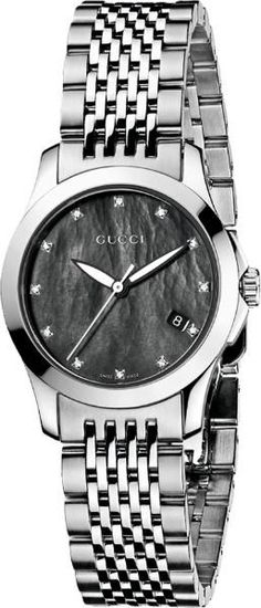 c7485ae857f YA126505 - Authorized Gucci watch dealer - Ladies Gucci G-Timeless