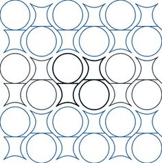 Snow Globe - Digital - Quilts Complete - Continuous Line Quilting Patterns