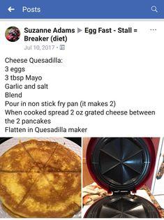 ceto-almo o bolo de coco Eggfast Recipes, Low Carb Recipes, Ketogenic Breakfast, Ketogenic Diet, Fast Food Diet, Keto Egg Fast, Coconut Flour Recipes, Diet Plan Menu, How To Eat Paleo